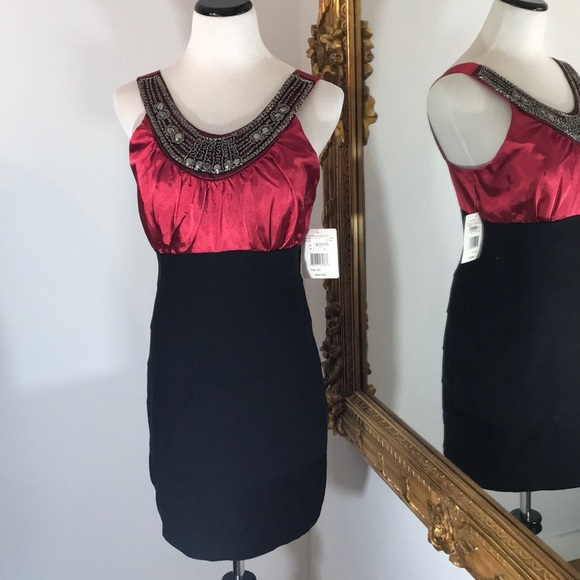 2076c7fc64 NWT beaded body con dress, sleeveless sexy NWT